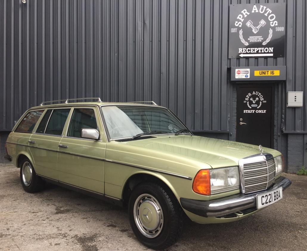 Mercedes W123 Restoration by SPR Autos of Stockport