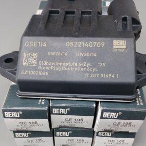 Mercedes CDI 280/320 Beru Glow Plugs,Relay & Grease KIT! A6429007801/A0011597101