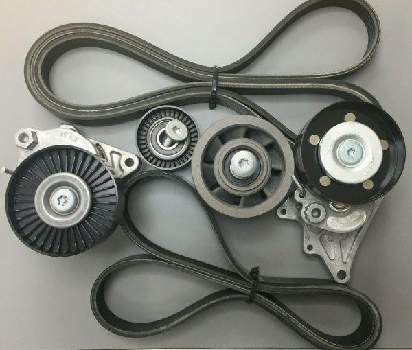 m113 55 AMG Belt and pulley kit m113 Kompressor 55 AMG A1132020419 A1132000170
