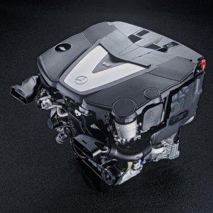 Mercedes OM642 Engine parts